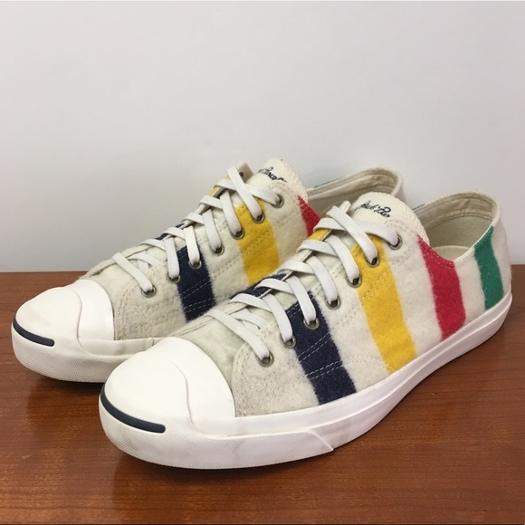 475a23527af49 Converse Other - Converse Jack Purcell x Hudson Bay wool stripe